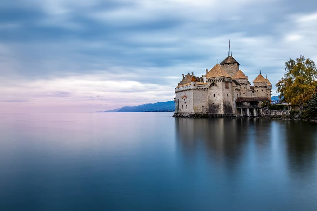 Chateau de Chillon در سوئیس